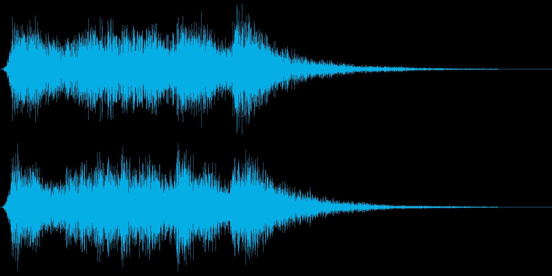 華麗な王宮オーケストラ風ショートジングルの再生済みの波形