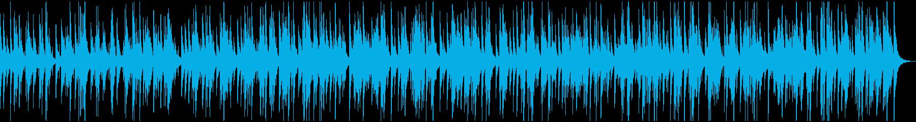 おしゃれなジャズバラードの再生済みの波形