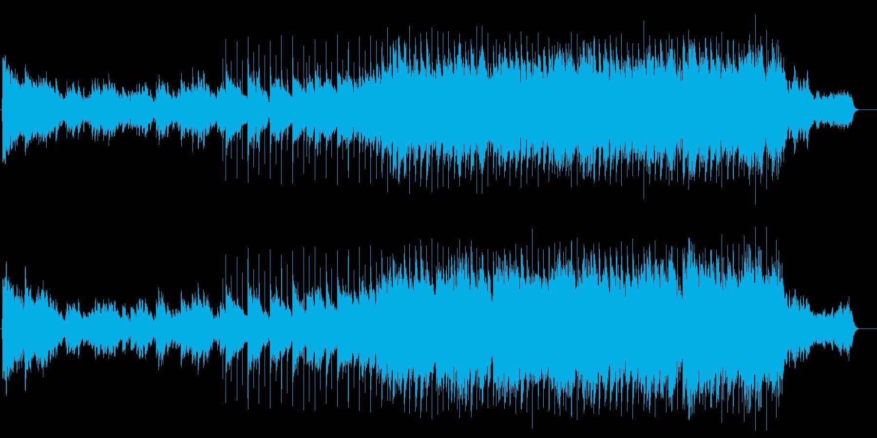 喜びのファンタスティックなソフトバラードの再生済みの波形