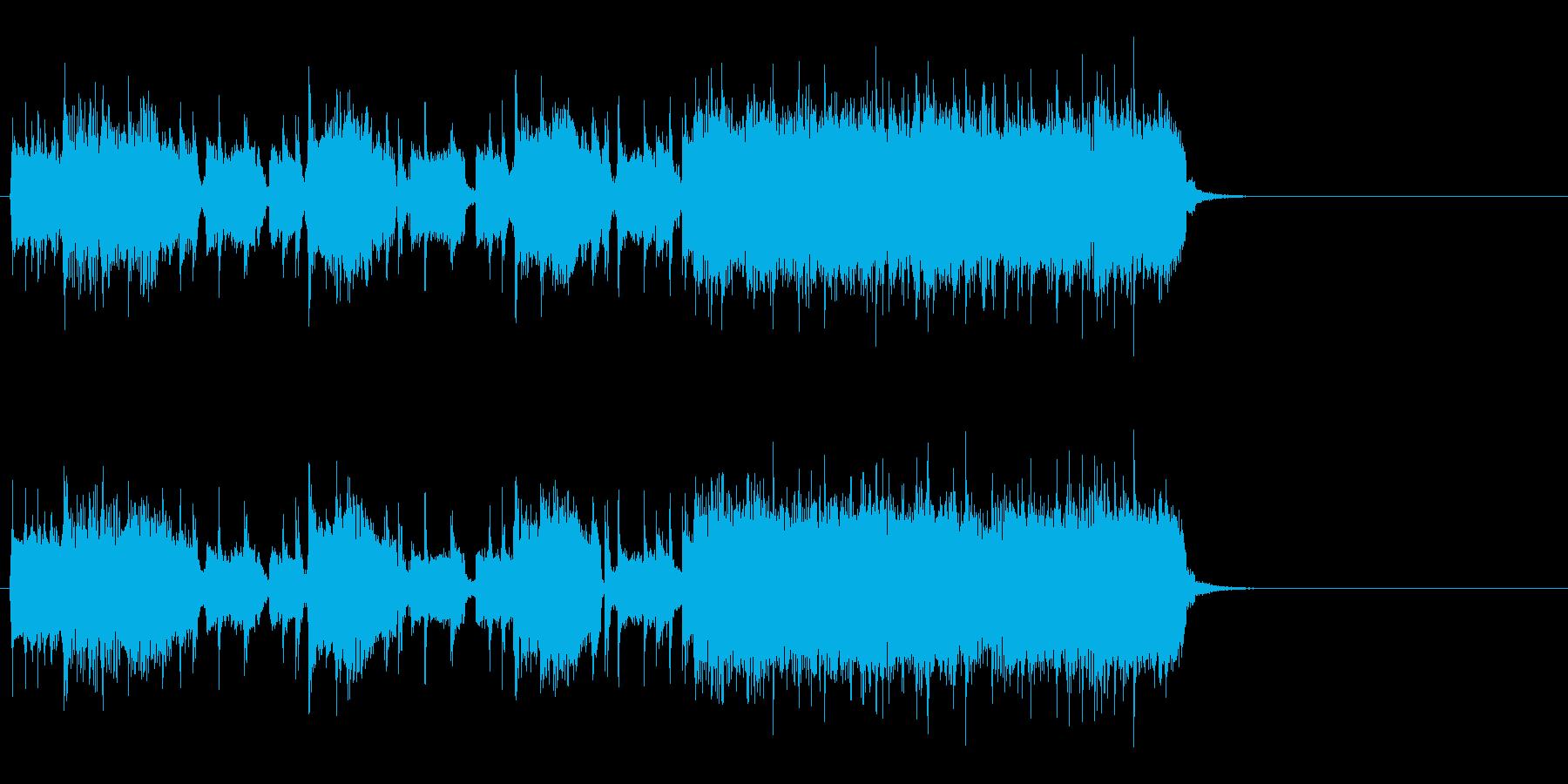 駆け抜けるハード・ロック(イントロ)の再生済みの波形