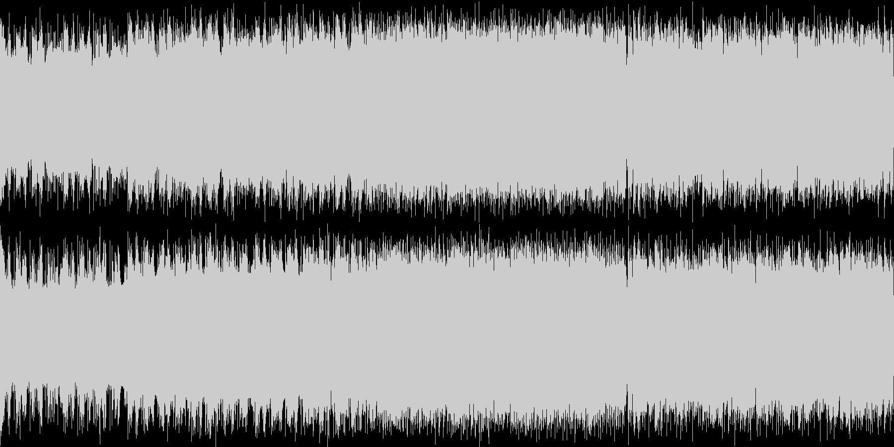 メタル ループ 戦闘曲の未再生の波形