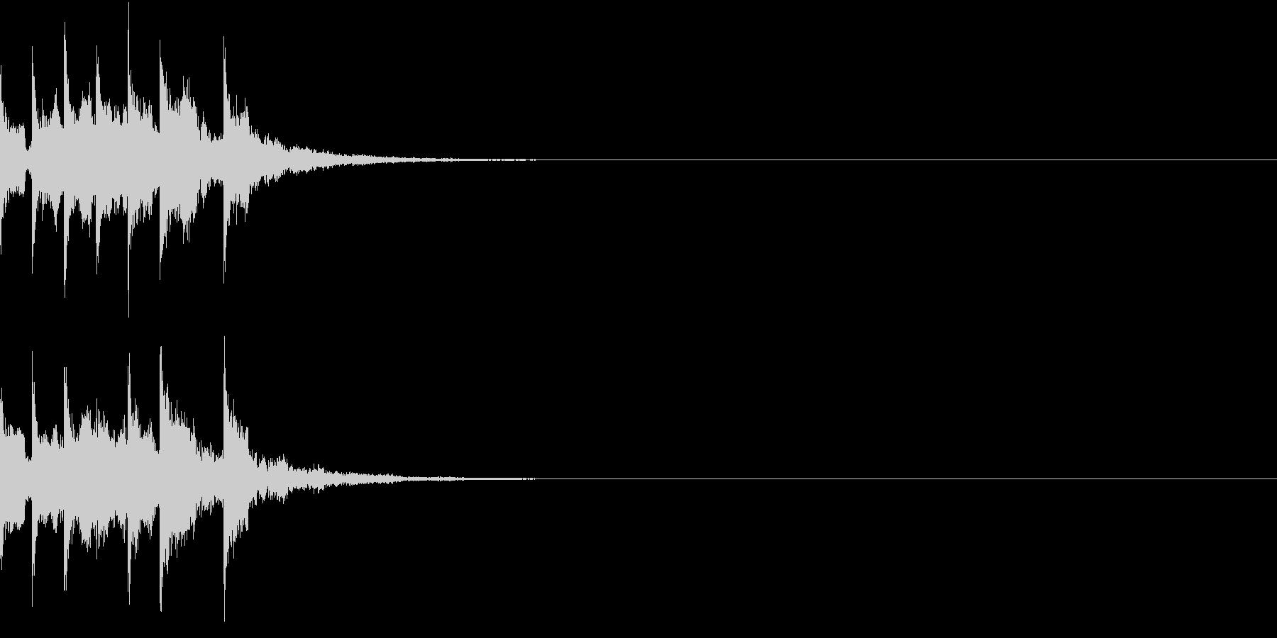 スタート アイテム 使う レベルアップ3の未再生の波形