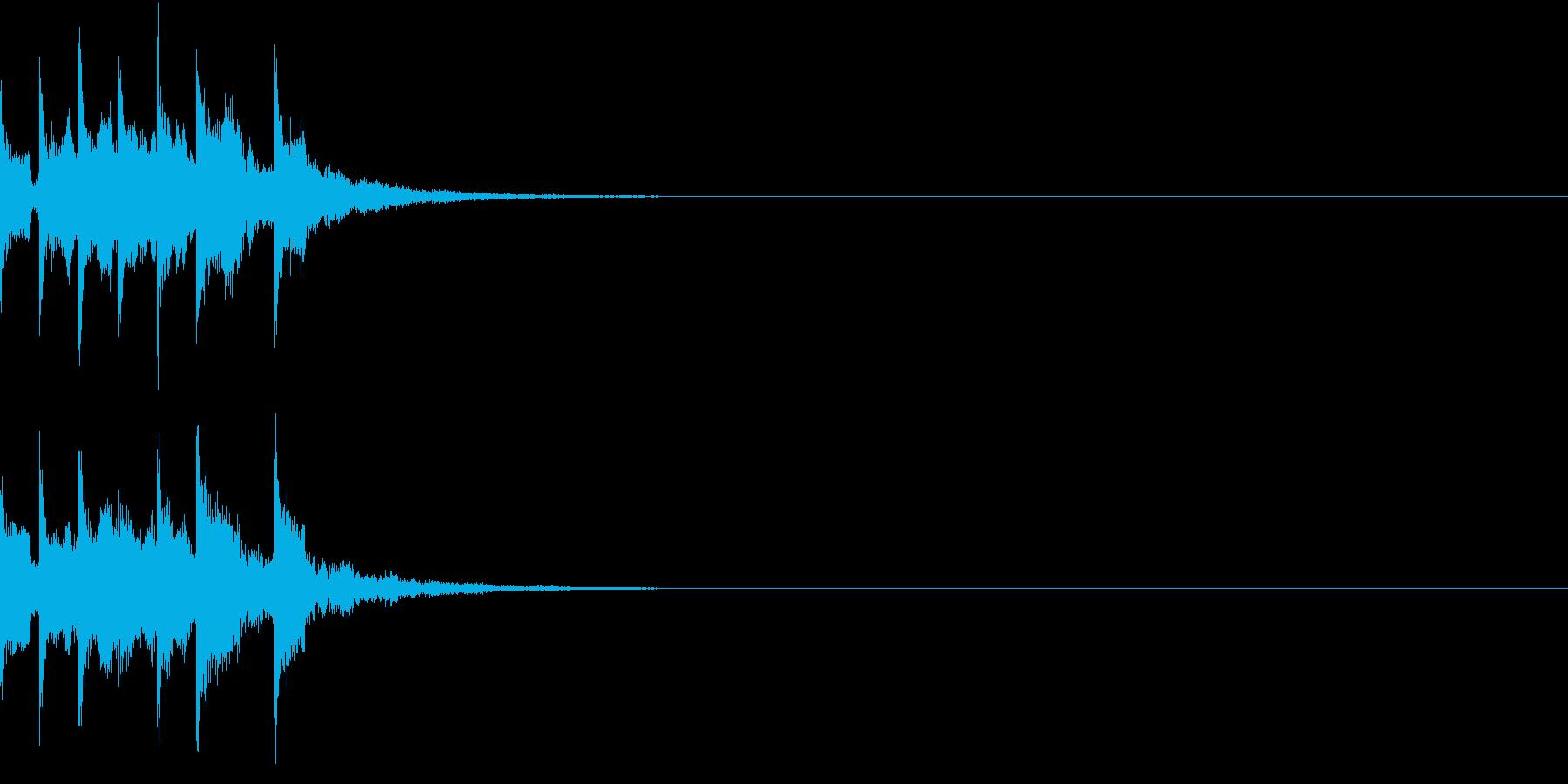 スタート アイテム 使う レベルアップ3の再生済みの波形