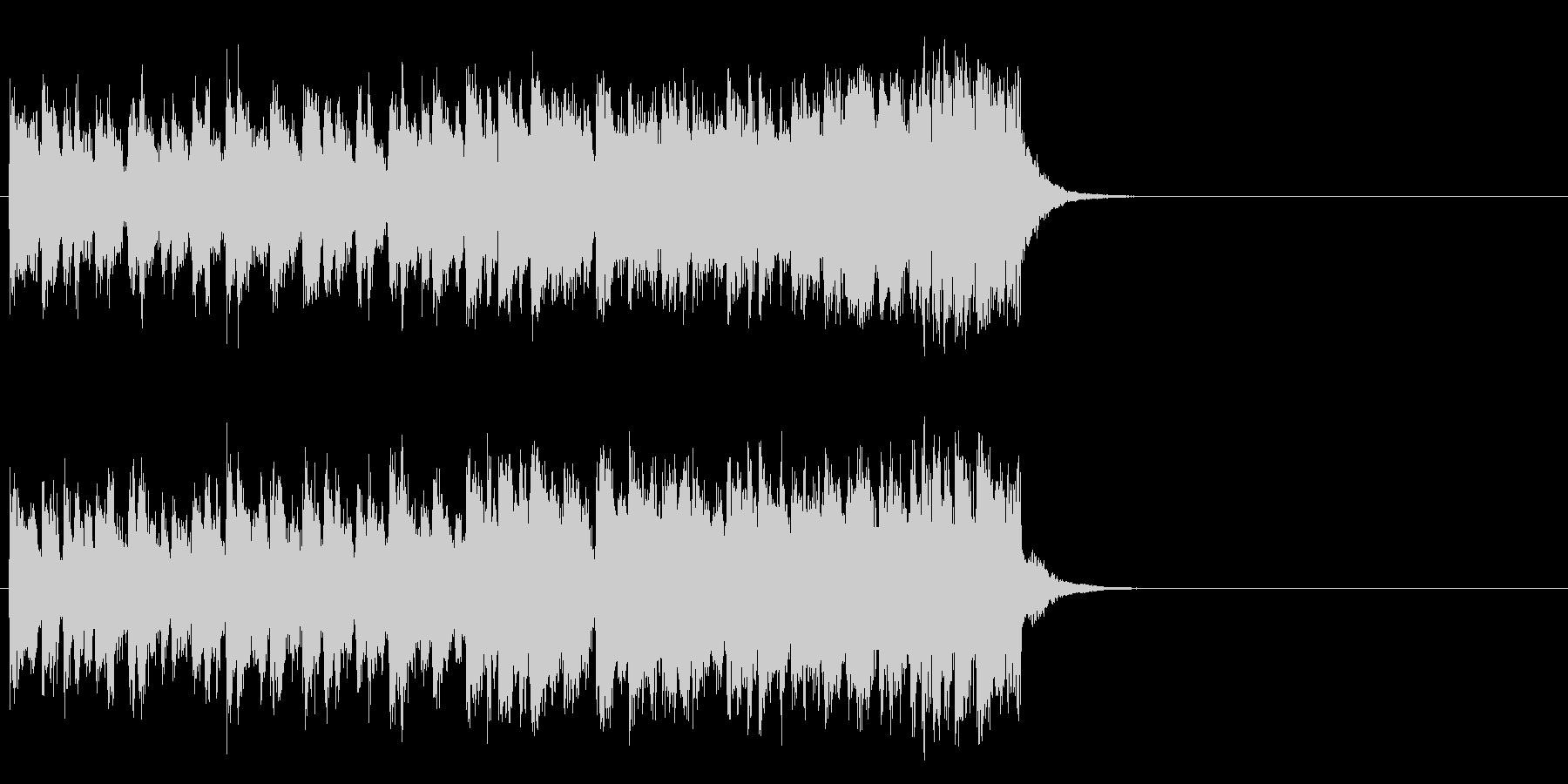 情報向けの軽快なポップス(Aメロ)の未再生の波形