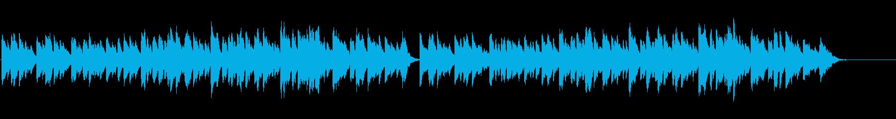 きよしこの夜♪をベル・アンサンブルでの再生済みの波形