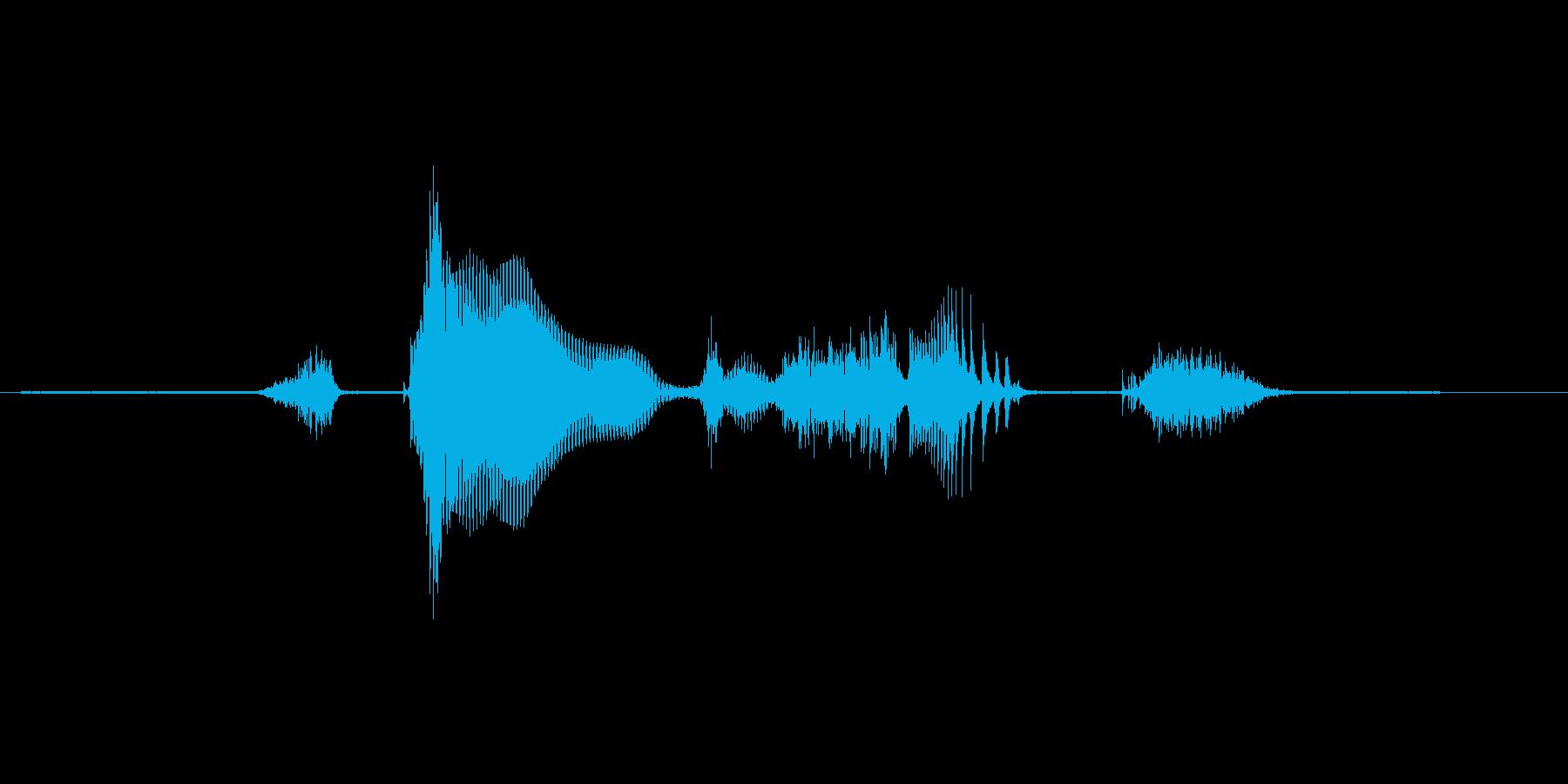 ステージ6(しっくす)の再生済みの波形