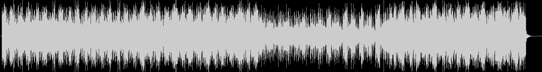 スピード感ある不思議なシンセサウンドの未再生の波形