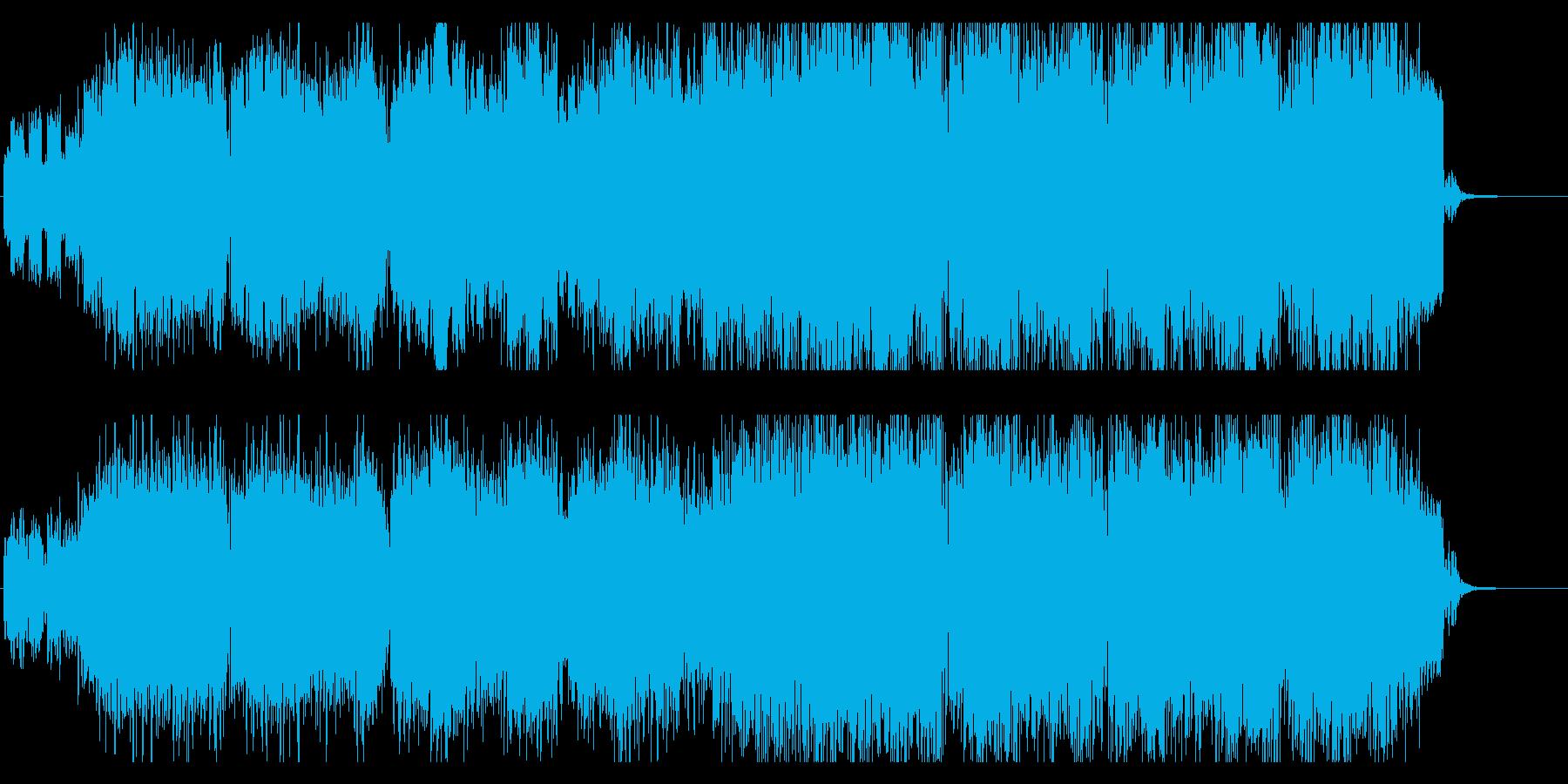 エレクトロニカ風ジムノペティの再生済みの波形