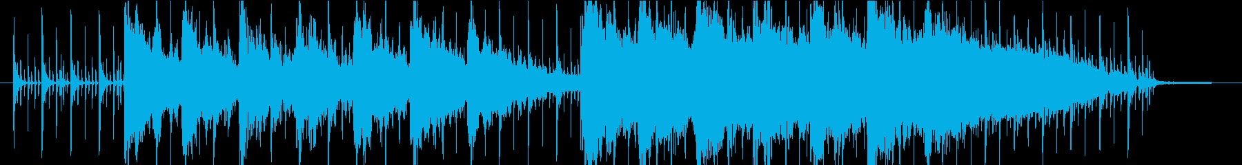 エディット、メニュー画面にアンビエントの再生済みの波形