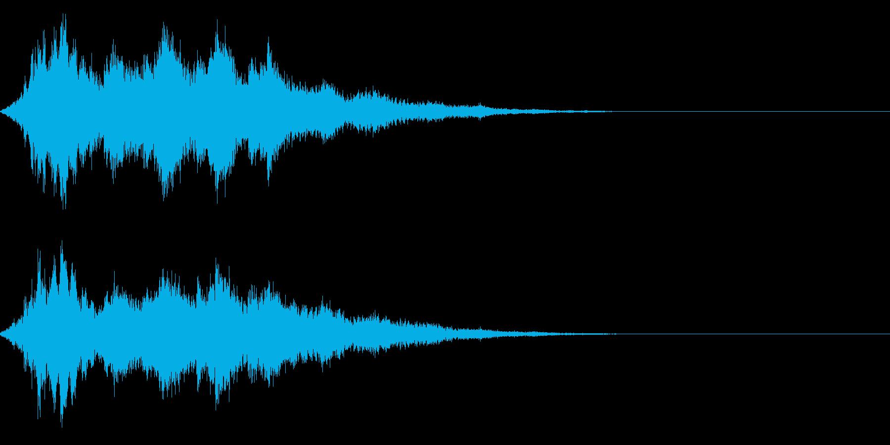 キラキラ☆シャキーン(輝きや魔法など)4の再生済みの波形