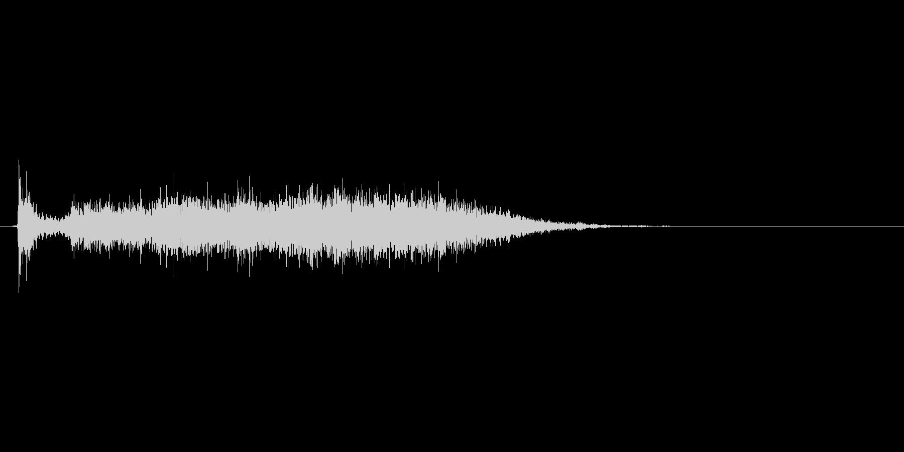 ふすまの開閉音(シャーッ、スーッ)の未再生の波形