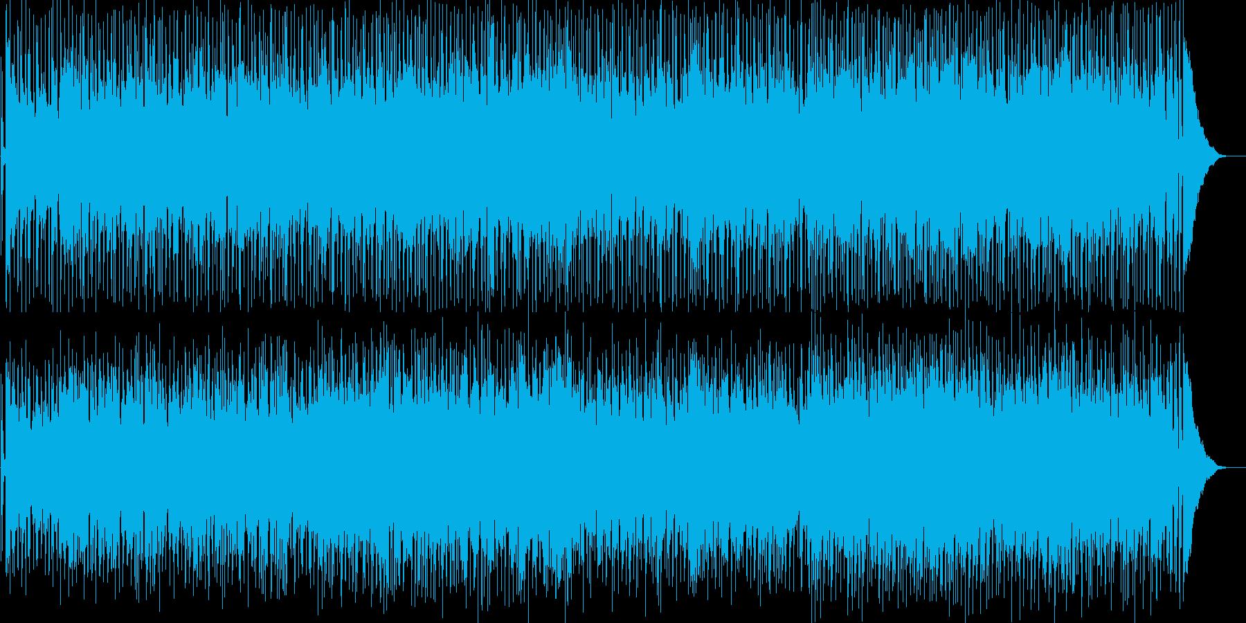 アコギメインのほのぼのとしたポップスの再生済みの波形