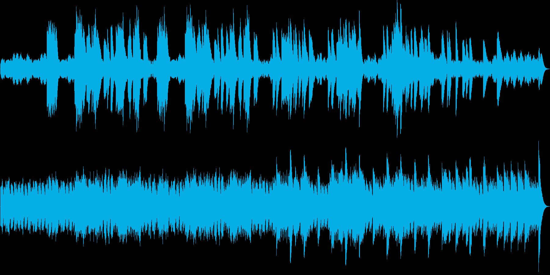 作業用癒し系オルゴールオリジナル曲の再生済みの波形