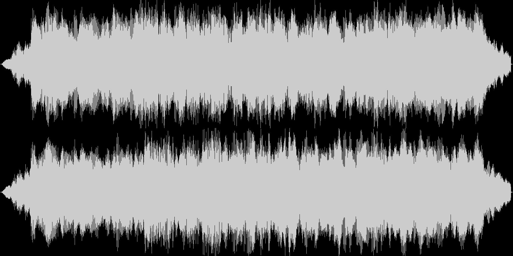 オーケストラの軽快なジングルの未再生の波形