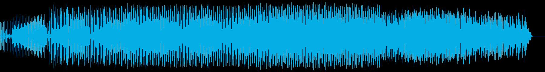 男達の挽歌が響くミステリアスなハウスの再生済みの波形