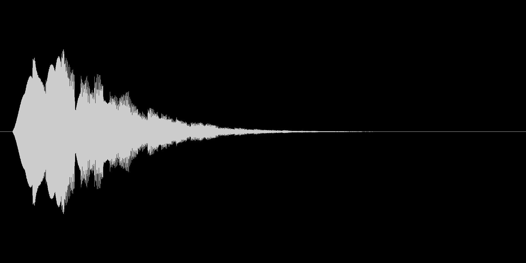 キラーン(アイテム取得、お知らせ)の未再生の波形