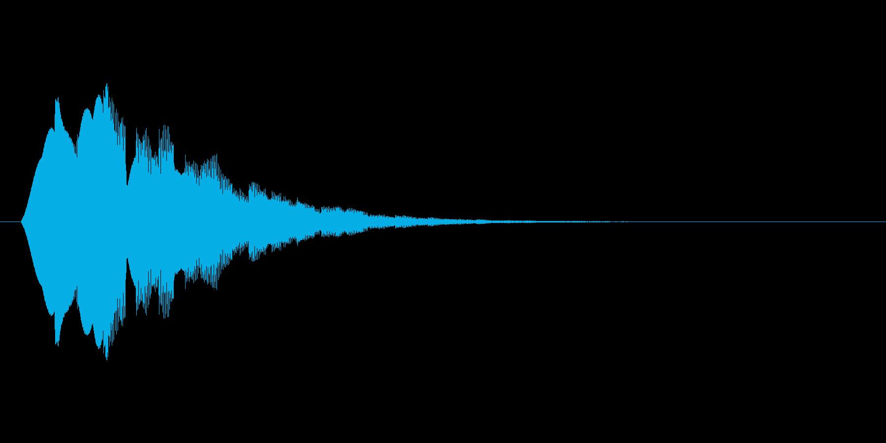 キラーン(アイテム取得、お知らせ)の再生済みの波形
