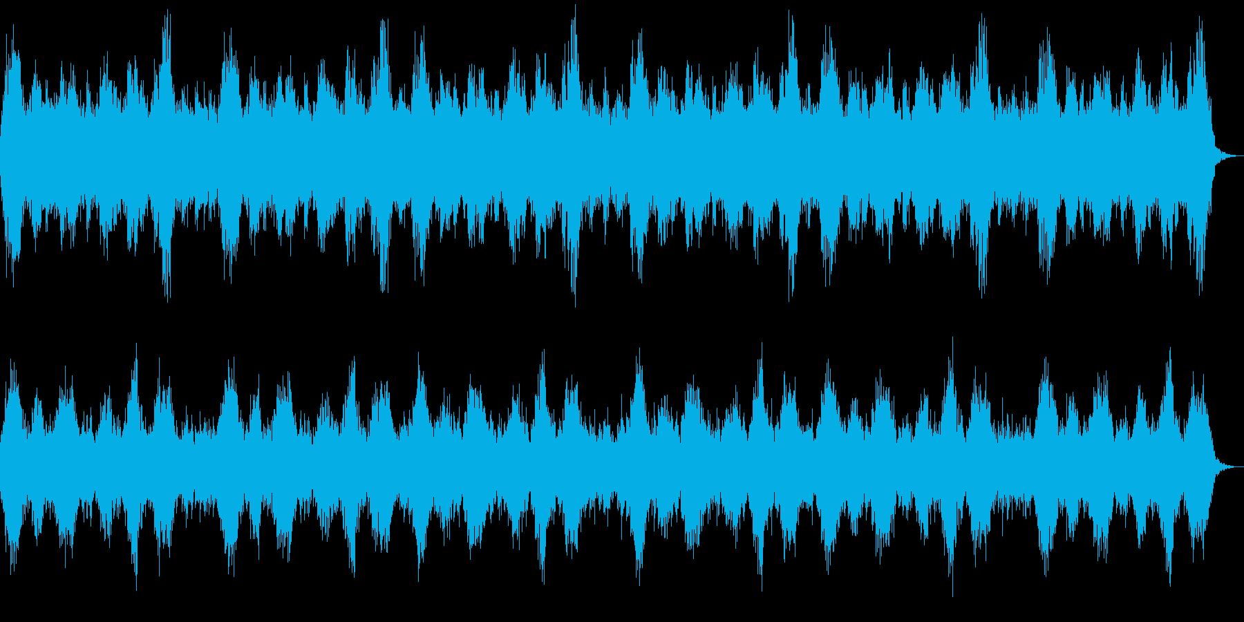 ホラーの演出 奇妙な幻惑的な背景 ハープの再生済みの波形