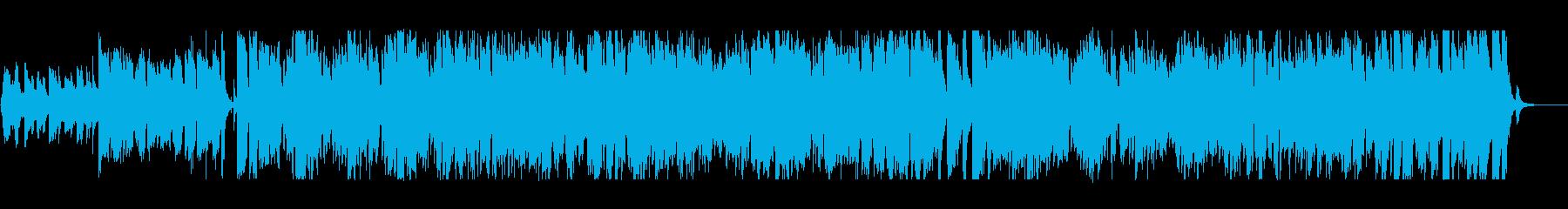 心がほっこりするボサノヴァの再生済みの波形