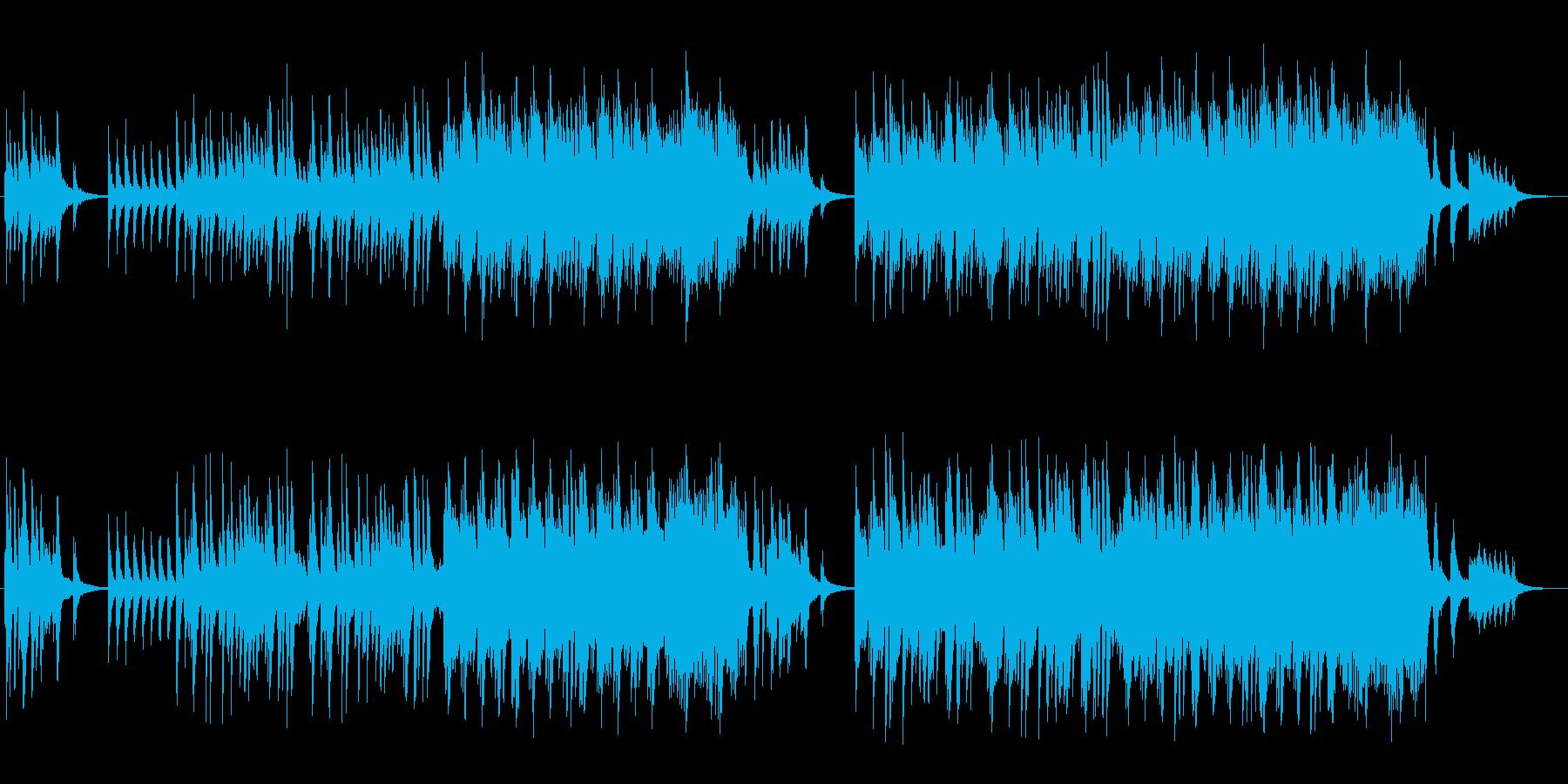 優しく美しいピアノによるバラードの再生済みの波形