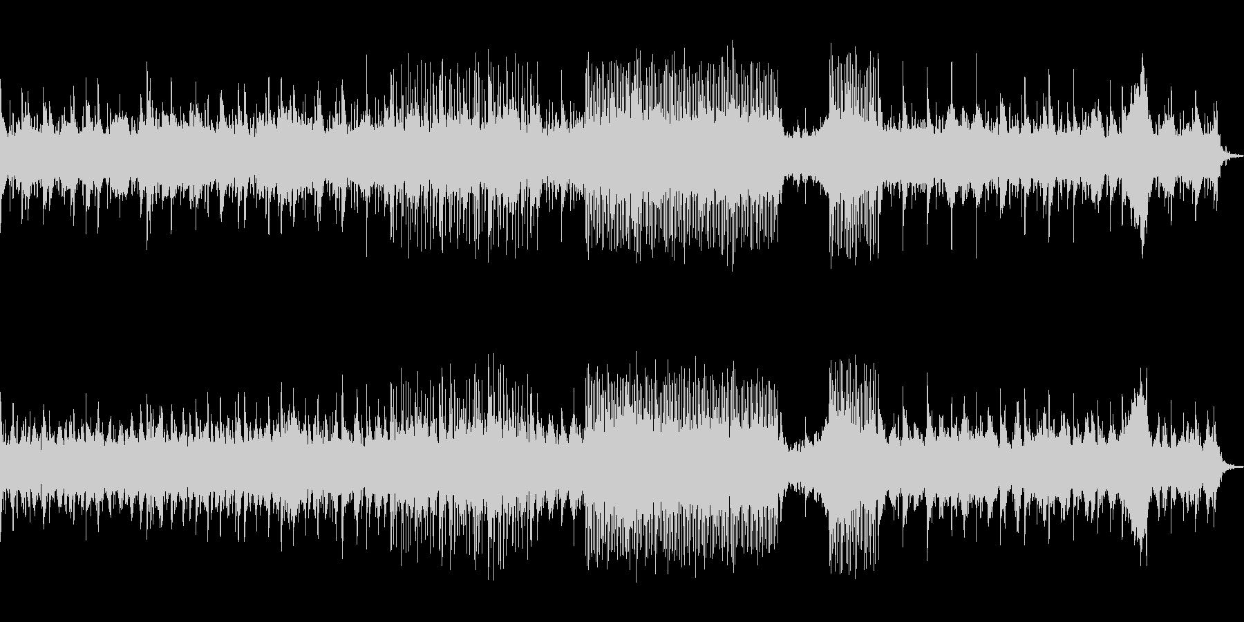 シンセを使ったインストの未再生の波形