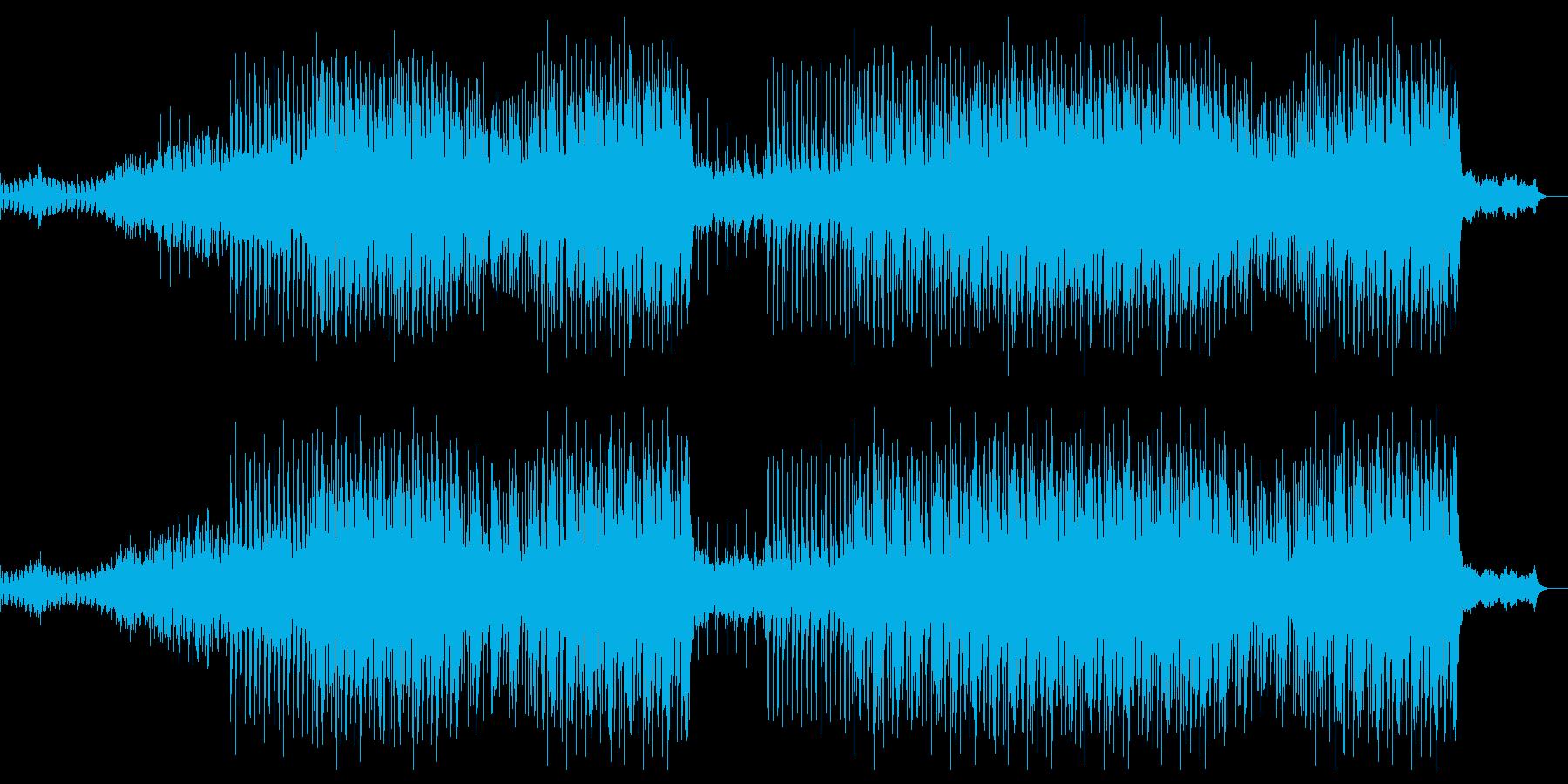 戦闘シーンを少し切なくストリングスでの再生済みの波形
