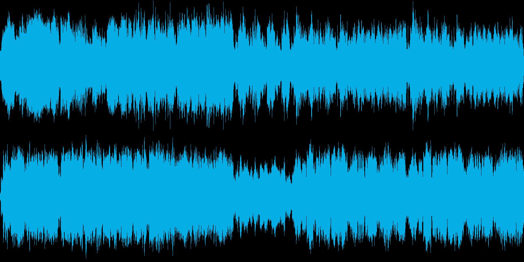 不吉な予感 ループの再生済みの波形