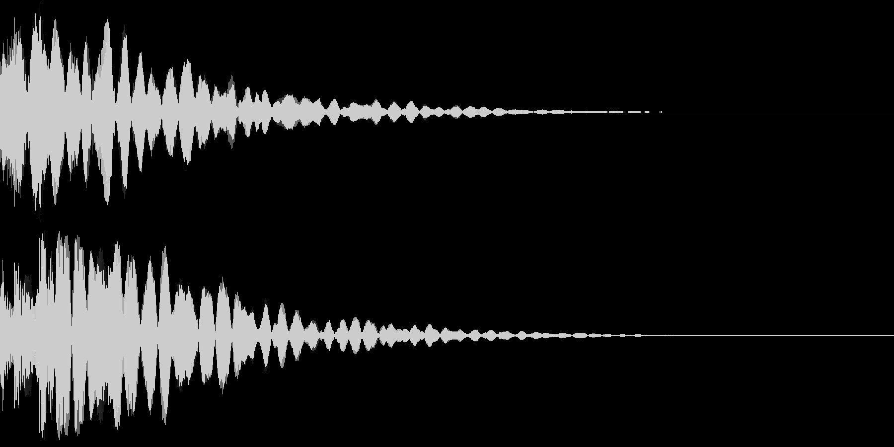 ボロリン~の未再生の波形