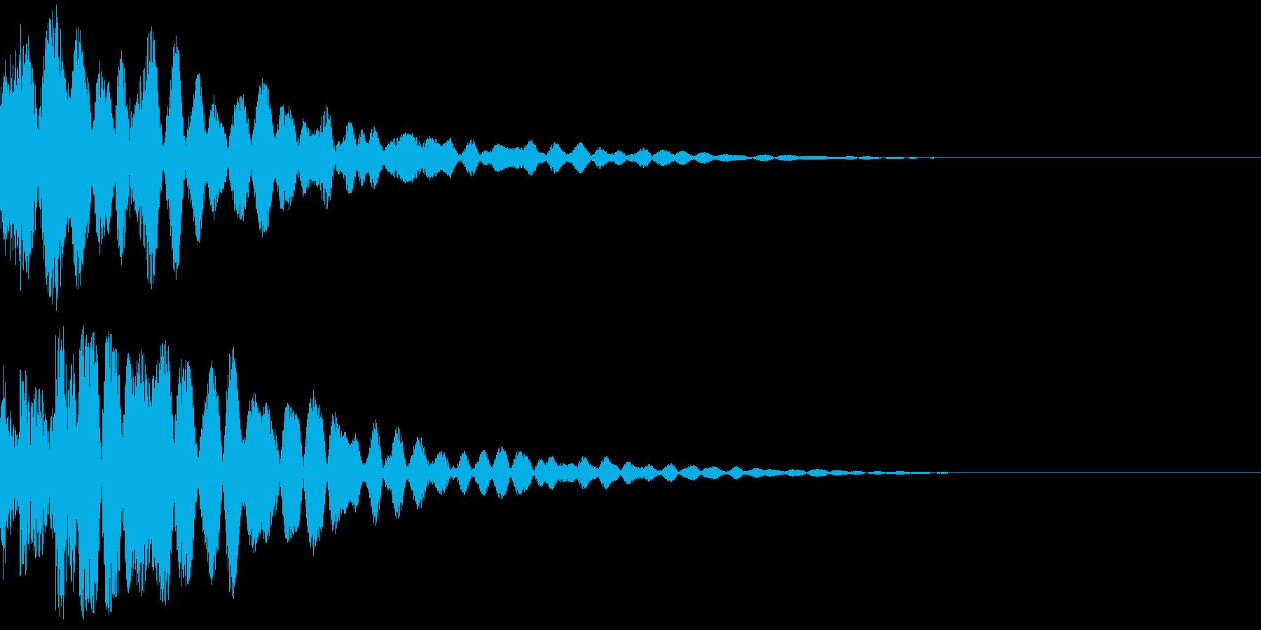 ボロリン~の再生済みの波形