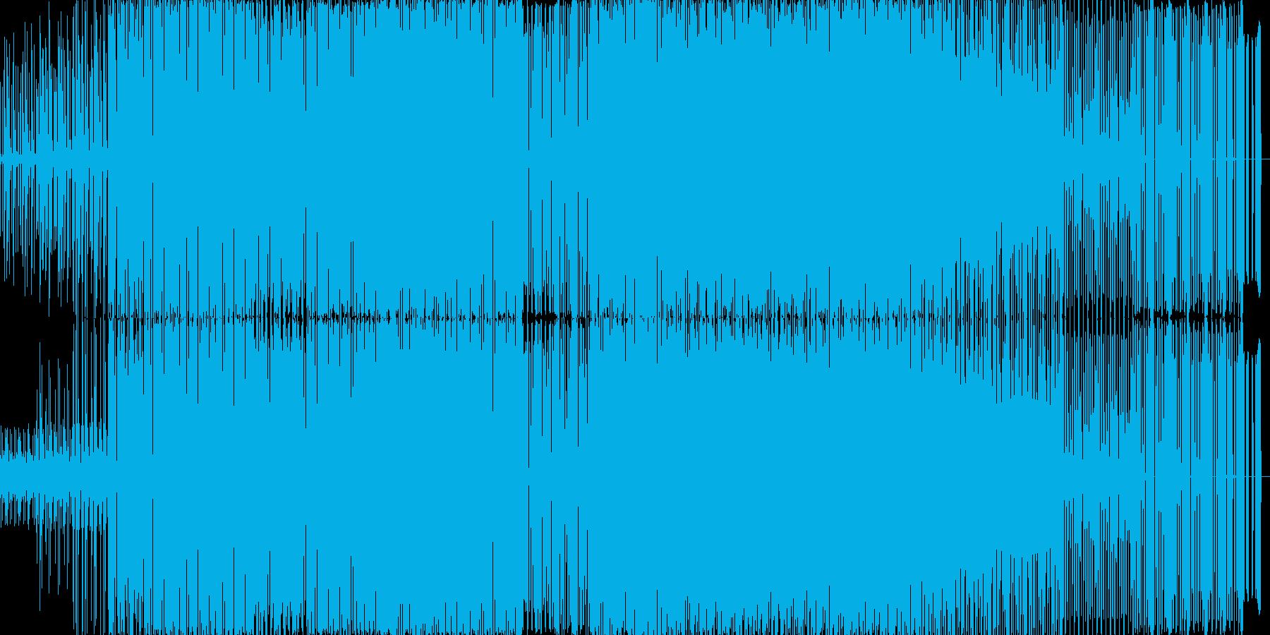 定番クラブサウンドの再生済みの波形