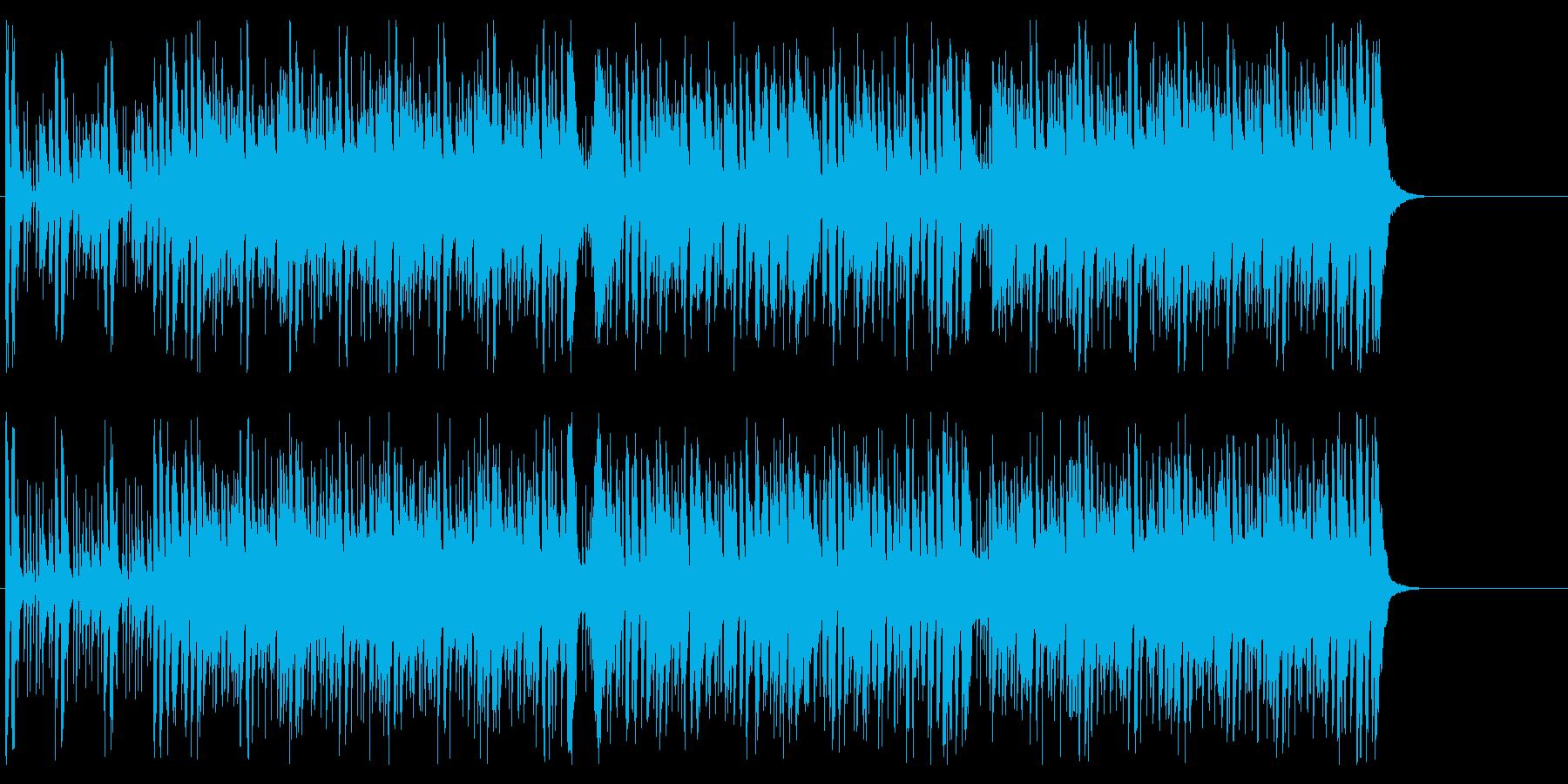 にぎやか いきいき 元気 楽しい 軽快の再生済みの波形