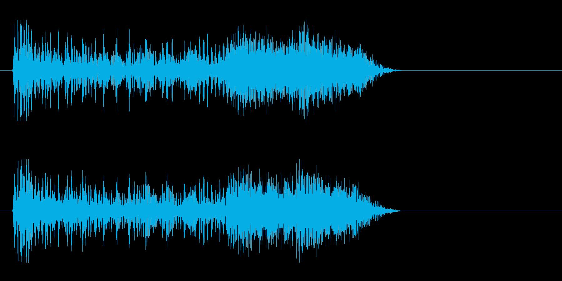 【つまずく感じ2】の再生済みの波形