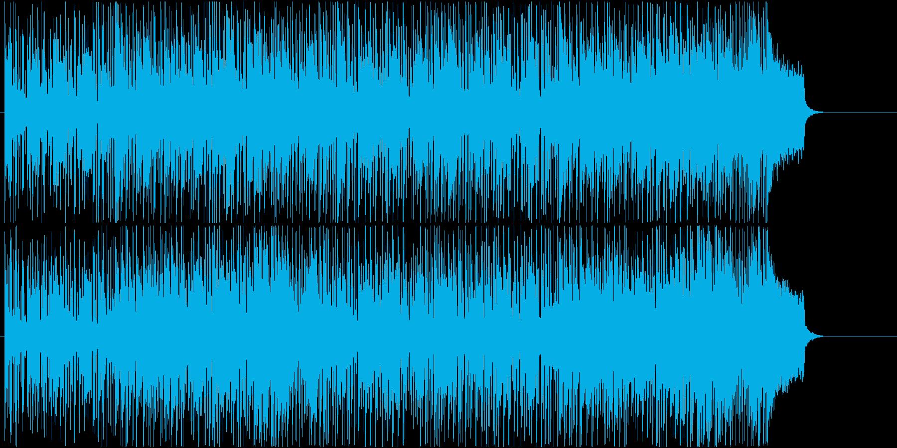 軽快 さわやか 休日 アウトドア 情報の再生済みの波形
