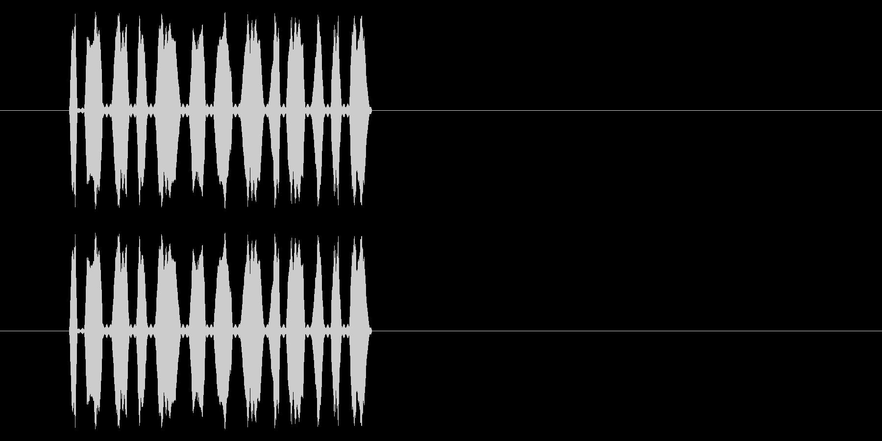 【NES RPG01-09(メッセージ)の未再生の波形