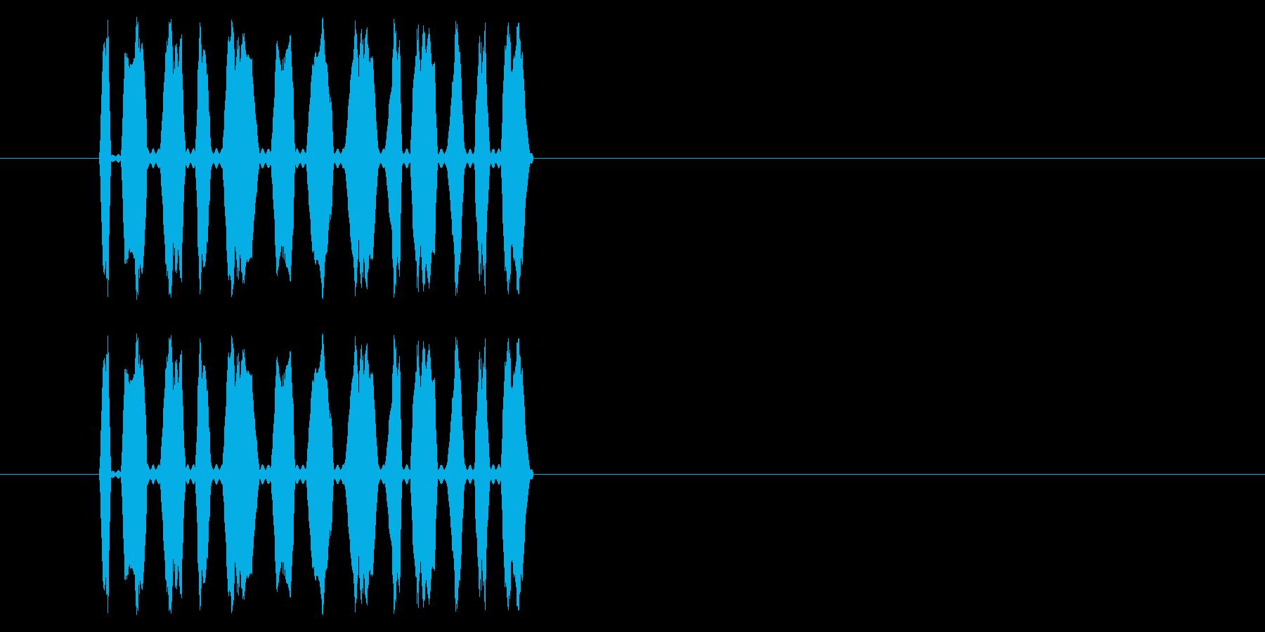 【NES RPG01-09(メッセージ)の再生済みの波形