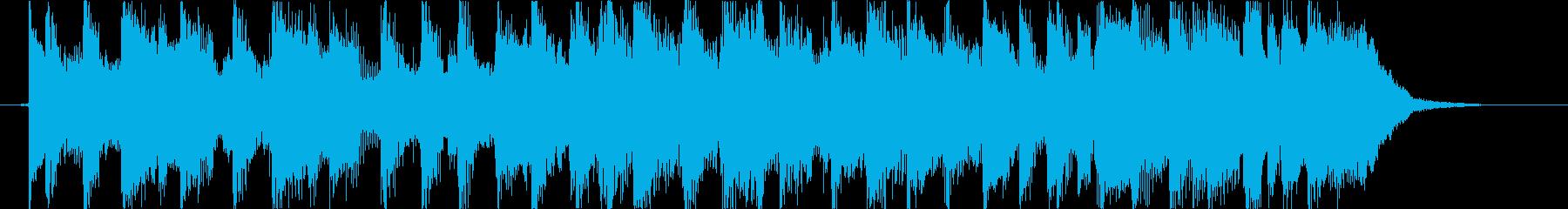 ジングルベル ギターVer の再生済みの波形