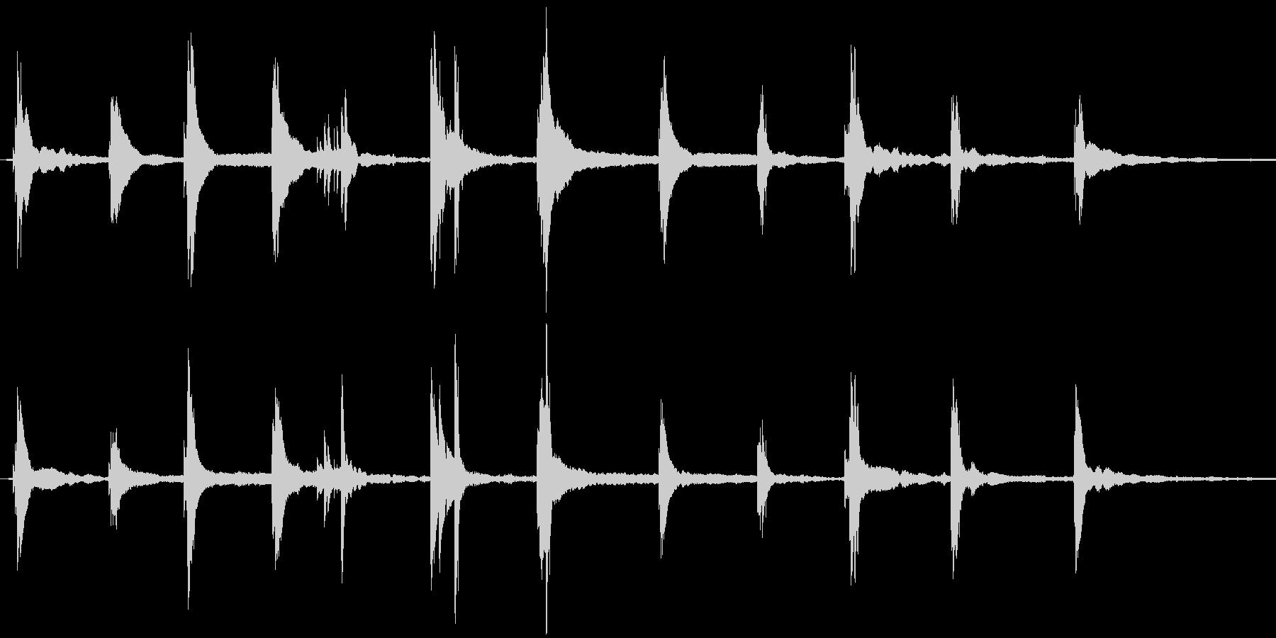 ブランドイメージCMに最適な爽やかな楽曲の未再生の波形