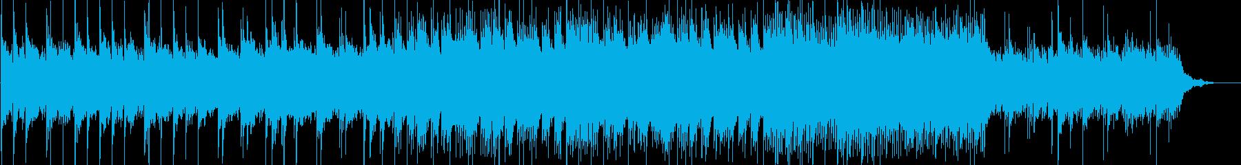 悲しく叙情的なピアノソロの再生済みの波形