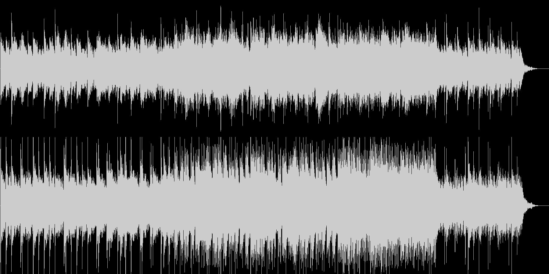 悲しく叙情的なピアノソロの未再生の波形