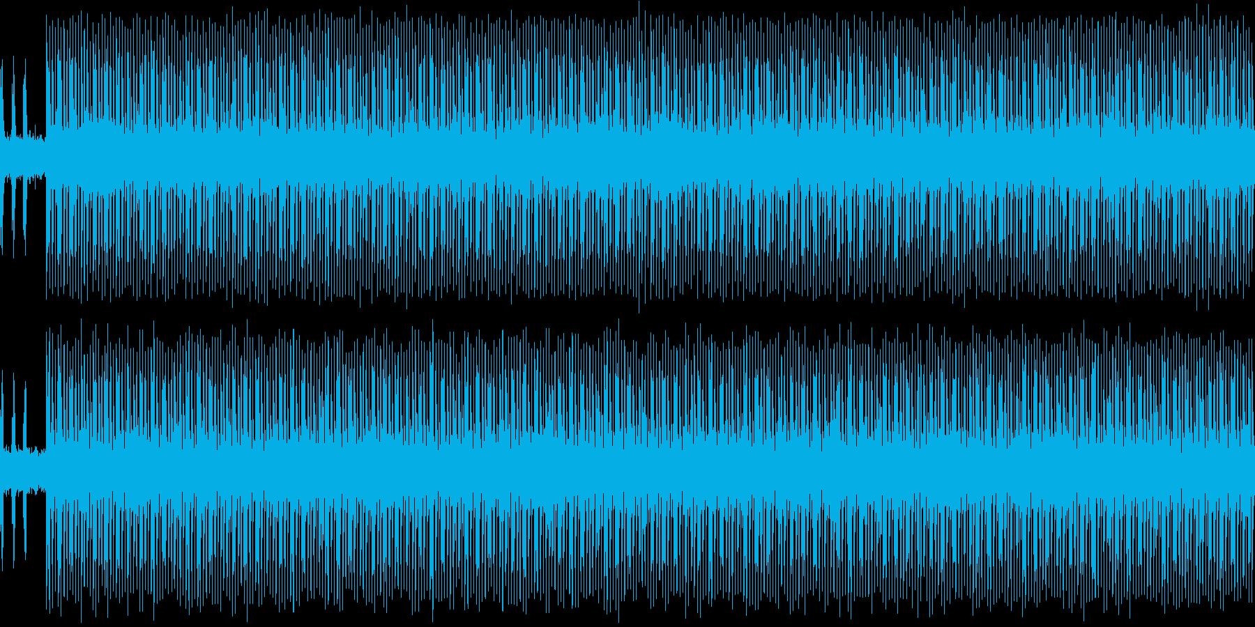 踏み込み感のあるインストの再生済みの波形