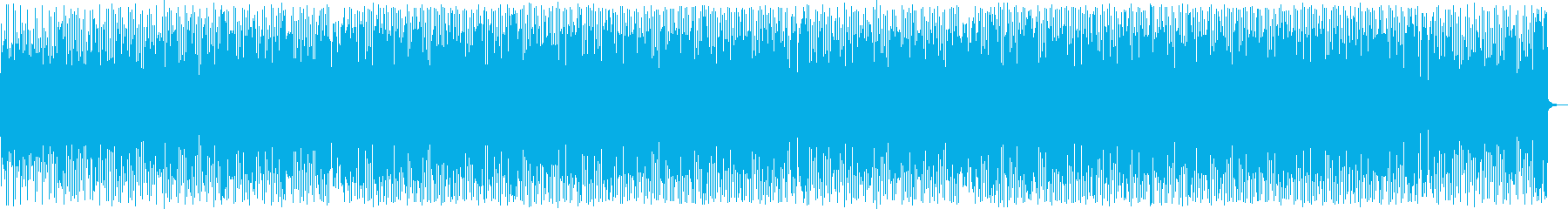 情熱的なシンセ・打楽器・ギターテクノ系の再生済みの波形