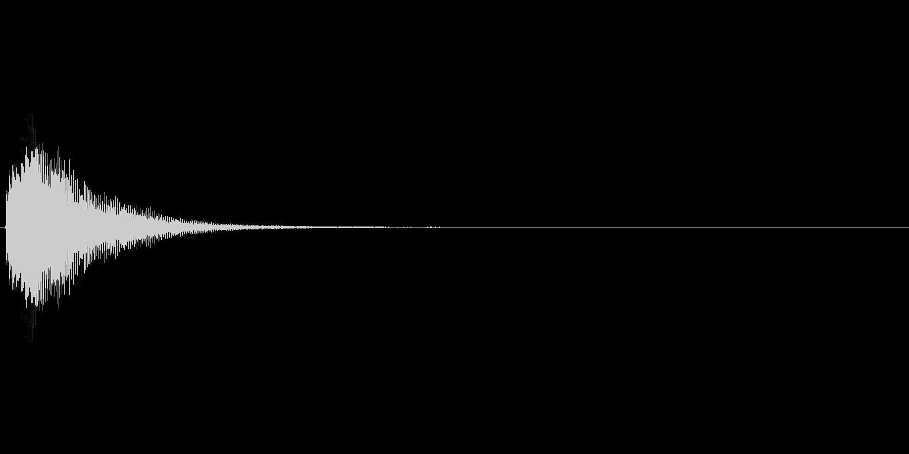 ピロロリンというアイテム使用系効果音。の未再生の波形