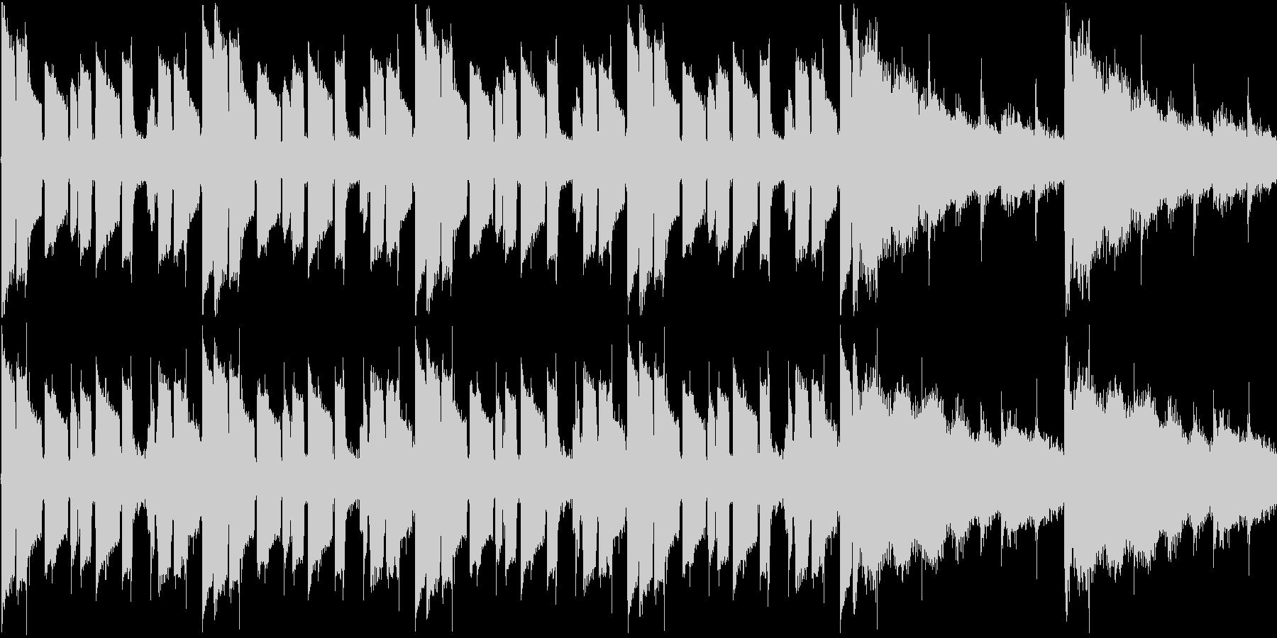 【JAZZギターソロ】の未再生の波形