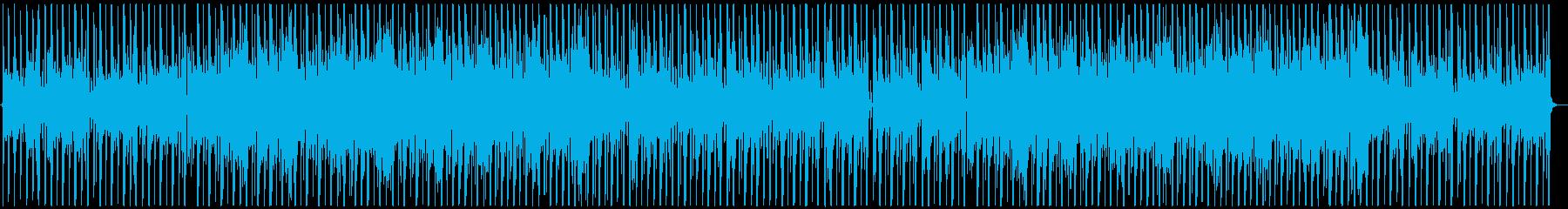 お洒落なジャズHipHopの再生済みの波形