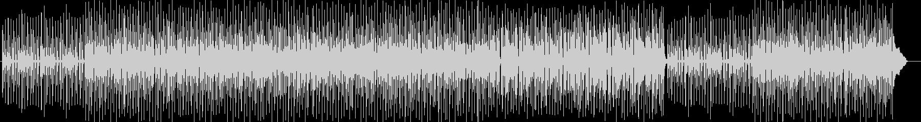 明るく楽しいポップス曲の未再生の波形