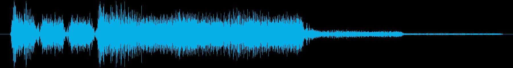 ゲーム、クイズ(正解)_007の再生済みの波形