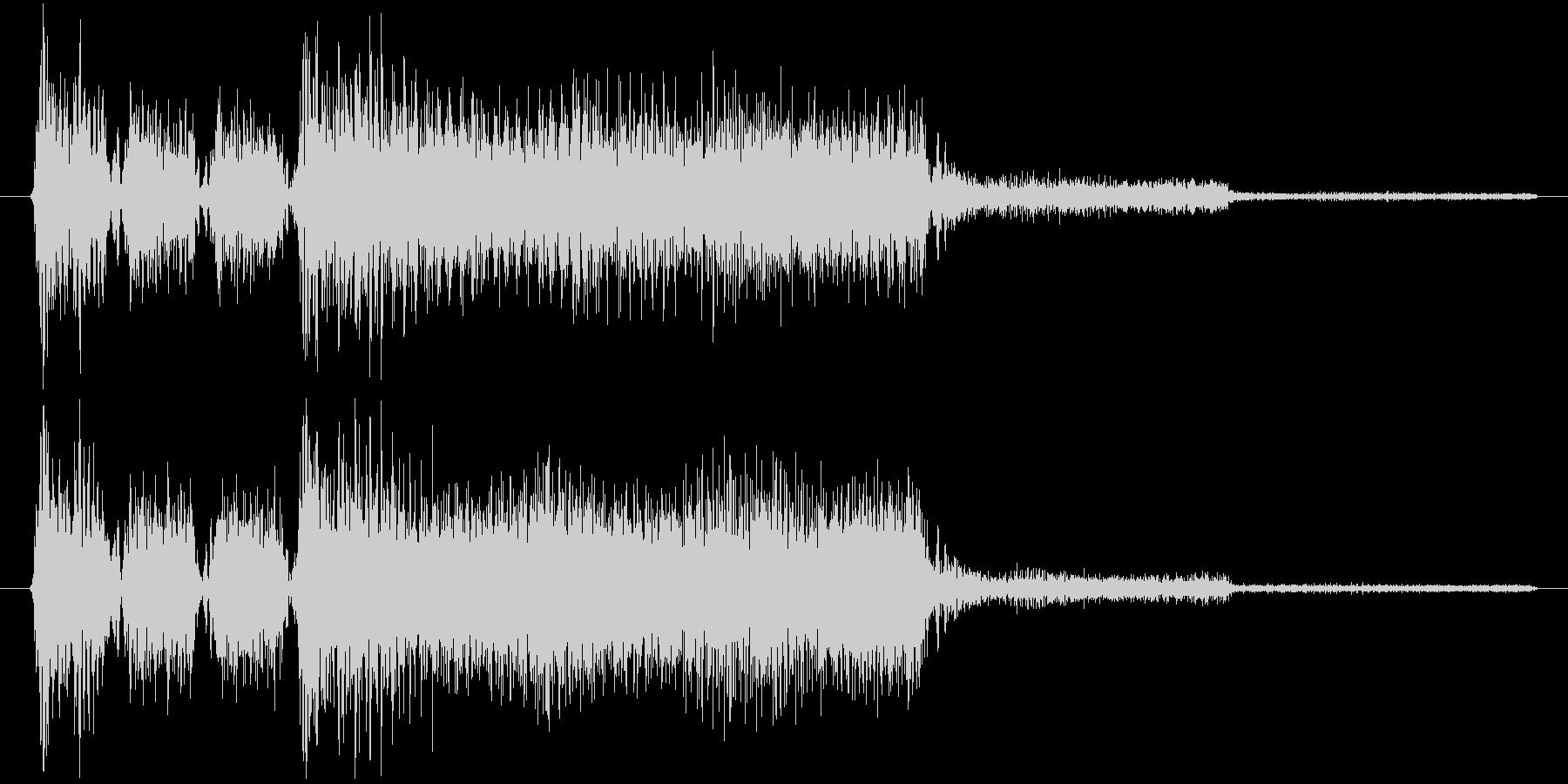 ゲーム、クイズ(正解)_007の未再生の波形