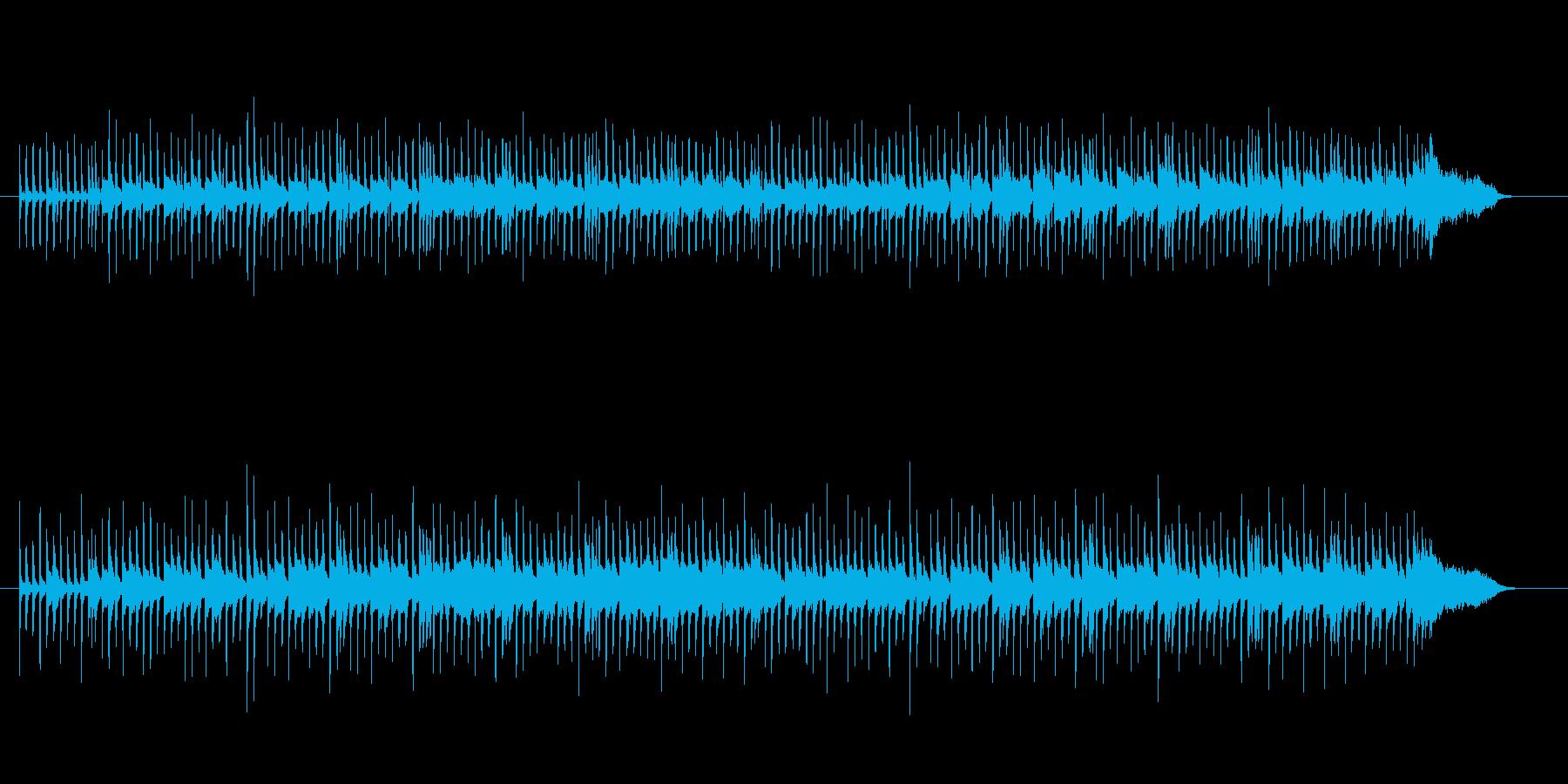現代的なワルツの再生済みの波形