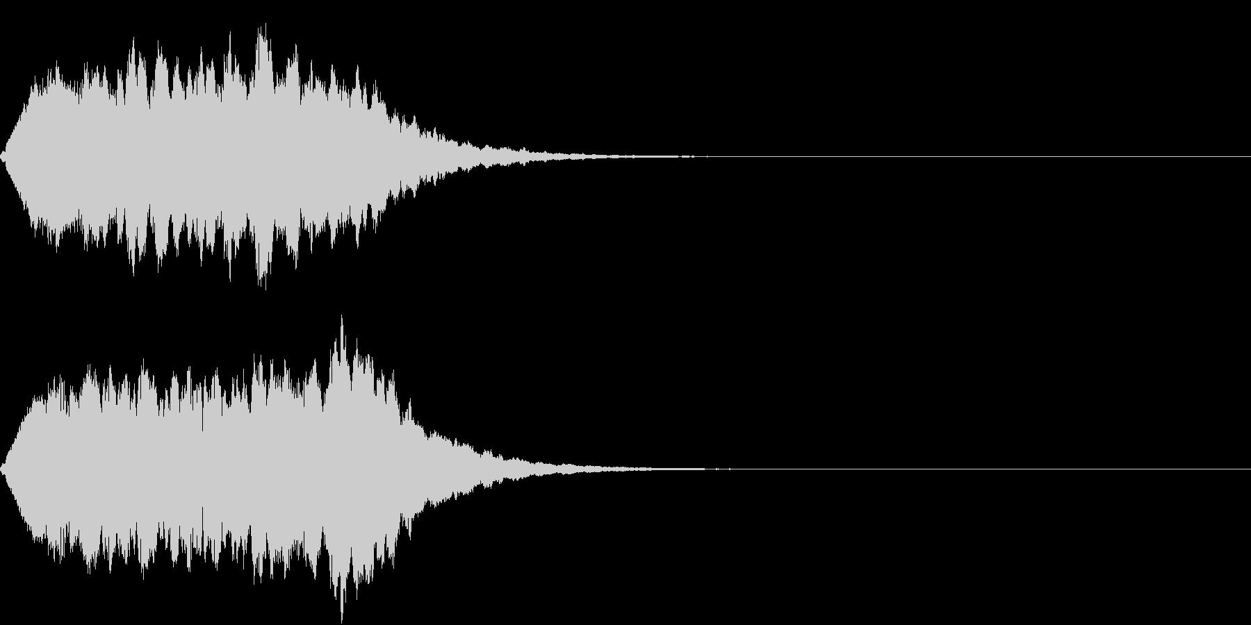 TVSFX 放送向け目立たせSEの未再生の波形