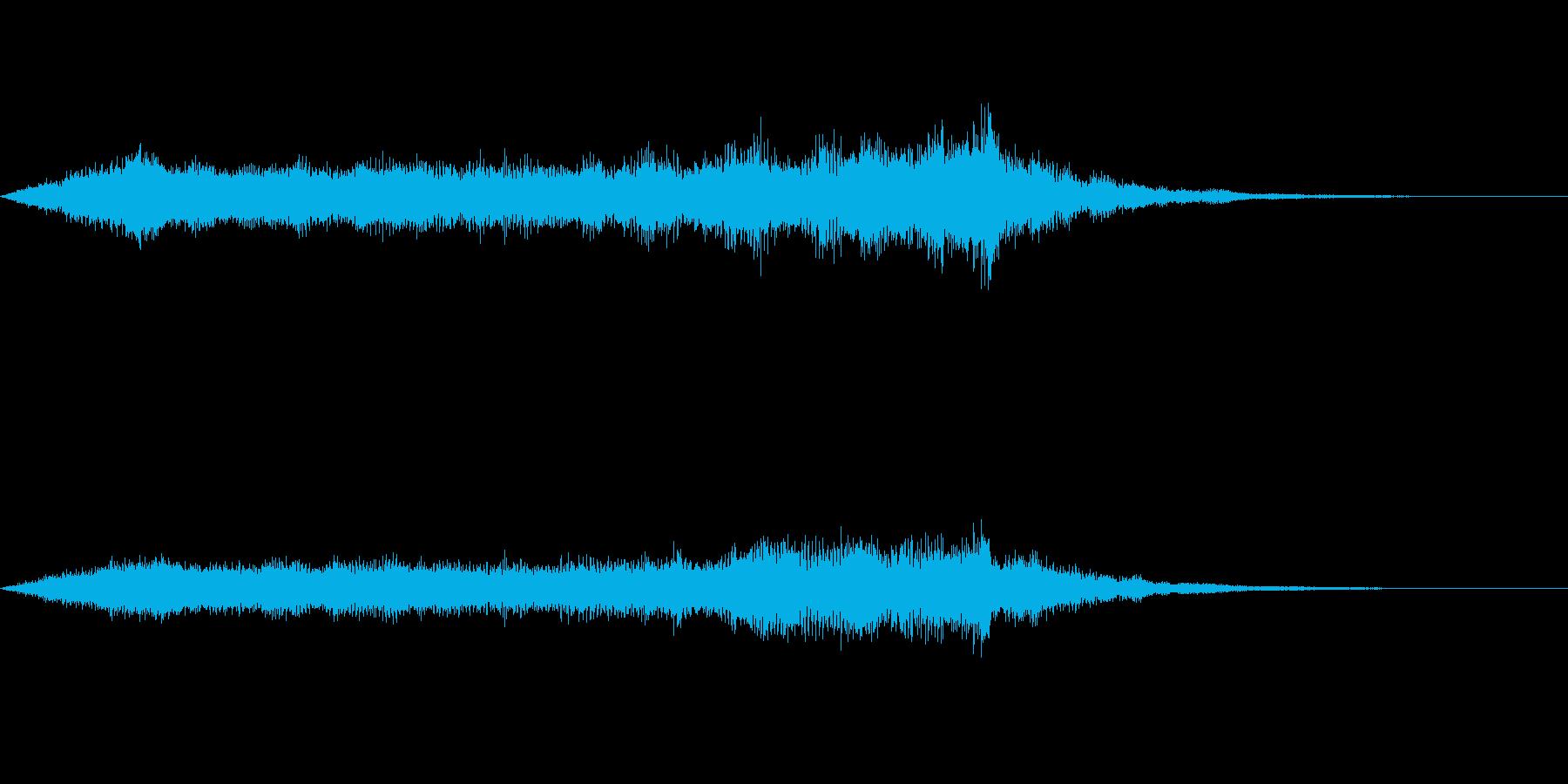スペイシーな空間音 Eメジャーの再生済みの波形